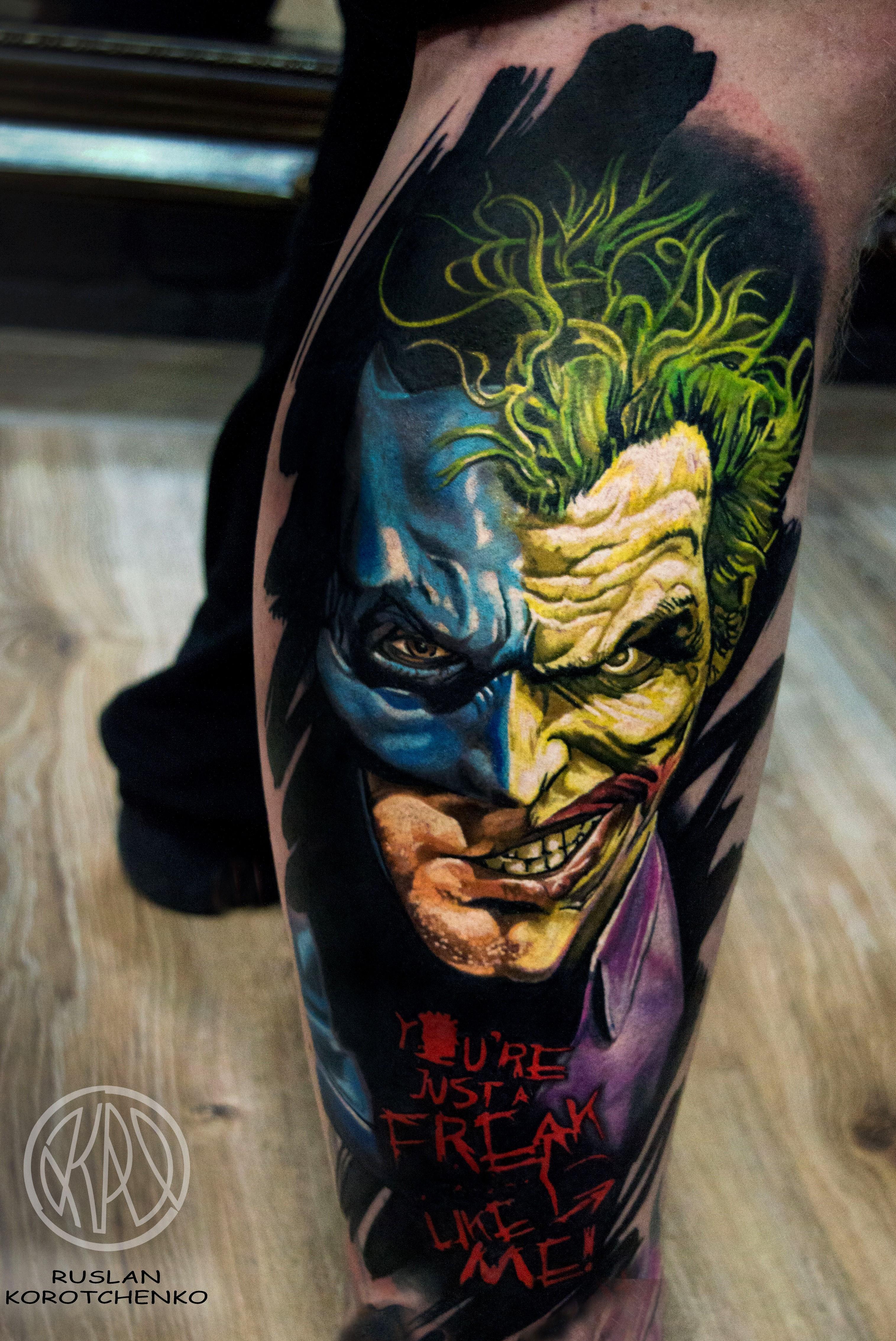 Joker Tattoo Motive World Tattoo Gallery 5