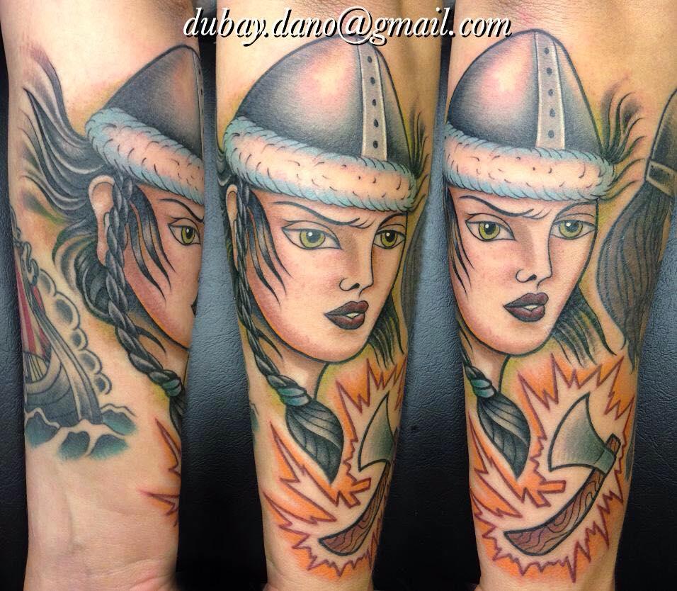 Schildmaid tattoo