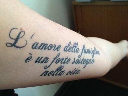 das ist das leben italienisch