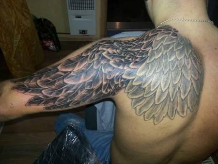 engelsflügel-Tattoo: Engelsflügel