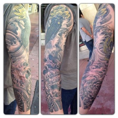 Full sleeve jap