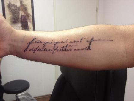 Flipkill Schriftzug Tattoos Von Tattoo Bewertungde