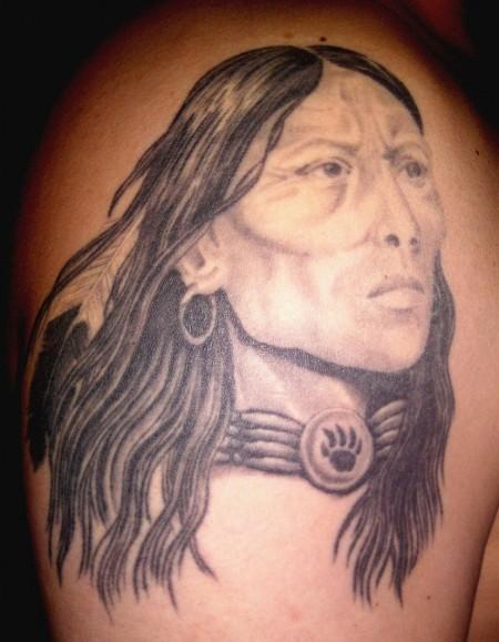 Indianer Portrait