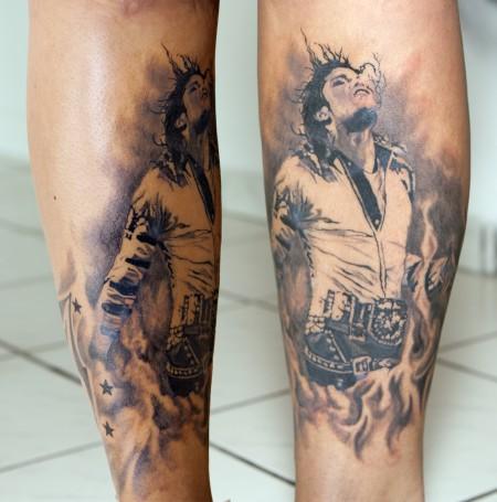 Sterne-Tattoo: Jacko