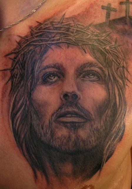 jesus-Tattoo: Jesus
