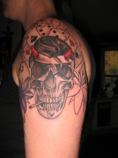 rockabilly-Tattoo: Rockabilly