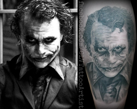 Joker Tattoos on Thegreatone  Joker   Tattoos Von Tattoo Bewertung De