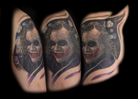 Joker Tattoo - 1st Part - Sleeve of Evil