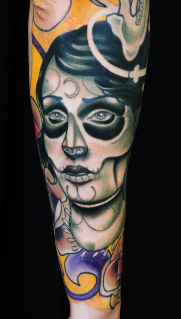 Mexican full sleeve (partial)