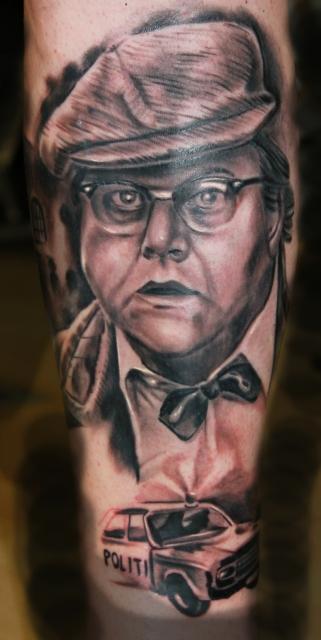 familie-Tattoo: Tattoo Dresden, Constantin Ink Dresden, Kjeld Olsenbande