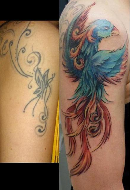 libelle-Tattoo: Me(h)erschweinchen ^^
