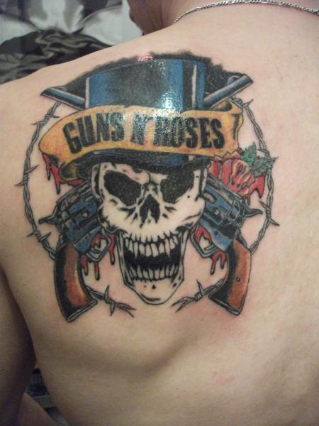 Guns N' Roses Tattoo Designs