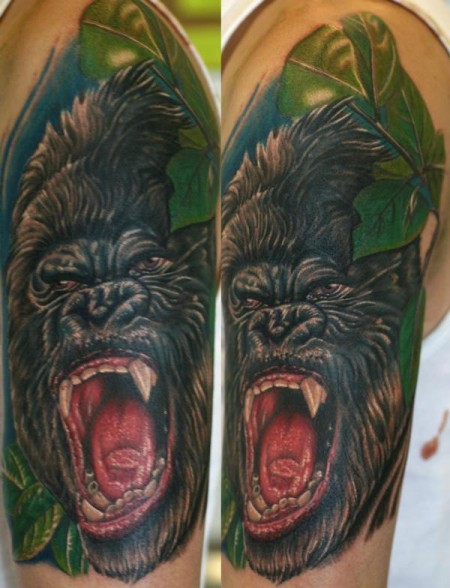 Gorilla, Cover up eines Tribals
