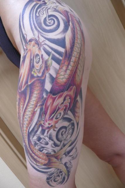 kois-Tattoo: Kois