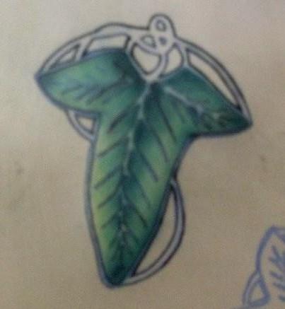 """""""leaf of lorien"""""""
