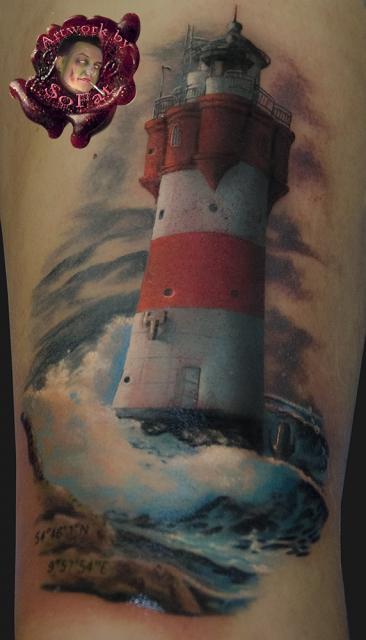 Sofat leuchtturm by sofat tattoos von tattoo - Tattoo leuchtturm ...