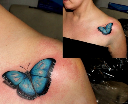 schmetterling-Tattoo: Schmetterding