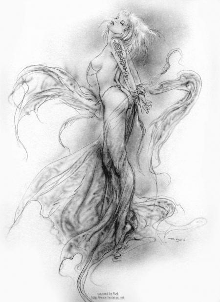Das Original von der Frau (by Luis Royo)