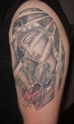 madonna-Tattoo: Madonna