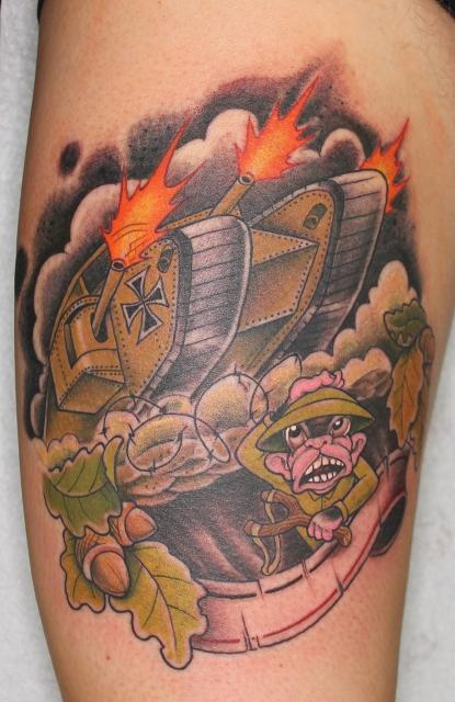 eviltom panzer tattoos von tattoo. Black Bedroom Furniture Sets. Home Design Ideas