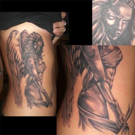 Tattoos Zum Stichwort Schutzengel Tattoo Bewertungde Lass Deine