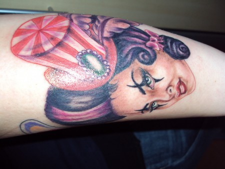 pinup-Tattoo: Pin-Up