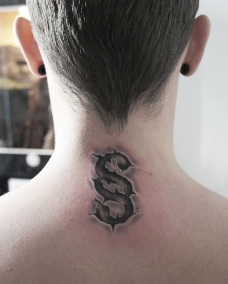 kiez tattoo paragraphen im nacken tattoos von tattoo. Black Bedroom Furniture Sets. Home Design Ideas