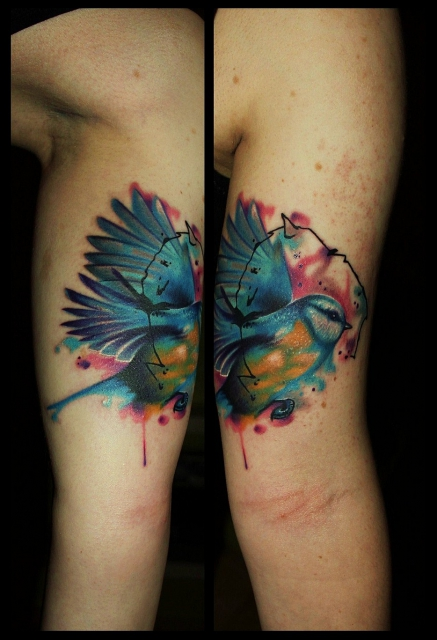 gaboa-Tattoo: Meise