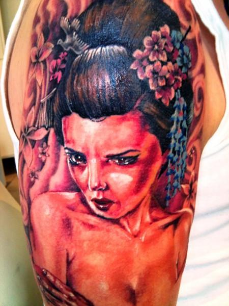 Coverup Geisha