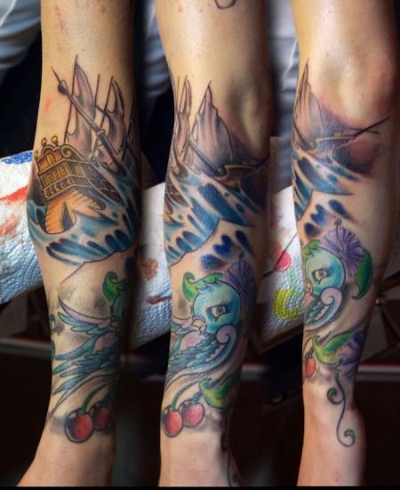 suchergebnisse f r 39 wasser 39 tattoos tattoo. Black Bedroom Furniture Sets. Home Design Ideas