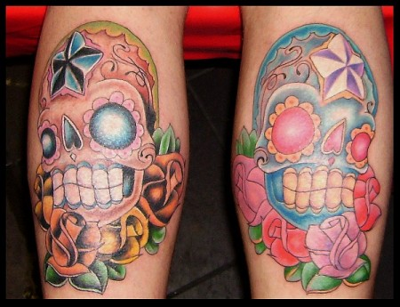 sugar-Tattoo: Candy skulls
