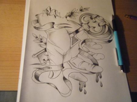 Hand Entwurf