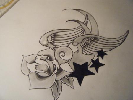 santinodereinzige schwalbe tattoos von tattoo