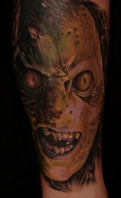 Orc, Illustration in Skin, Robby Welke