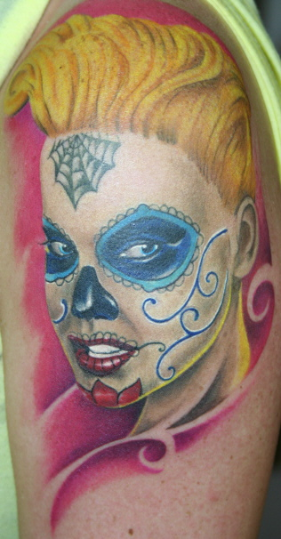 sugar-Tattoo: Sugar Skull