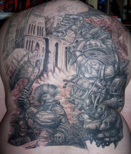 Mein Rücken als Detail
