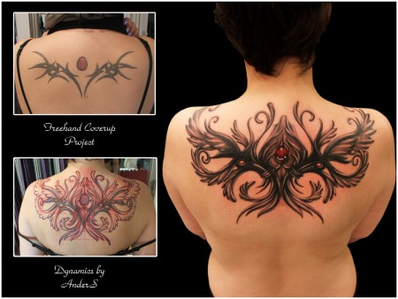Freehand Coverup