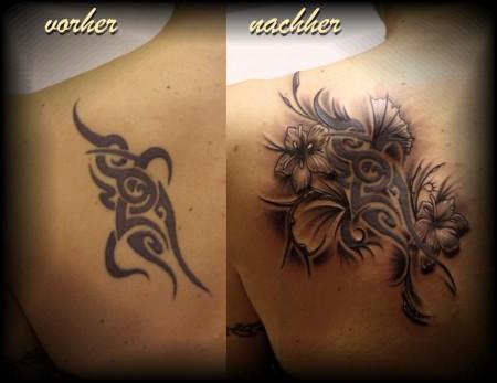 altes Tattoo aus Jugendzeiten aufgetunt ;-)