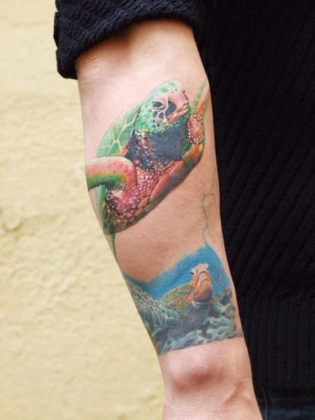 katsumi-Tattoo: Gesamteindruck (bis jetzt)