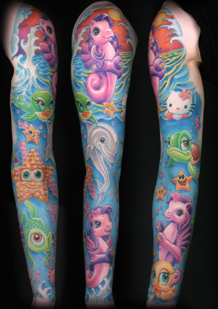 pony-Tattoo: My little Pony Sleeve 2