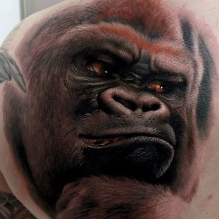 gorilla-Tattoo: Silberrücken for Rupert