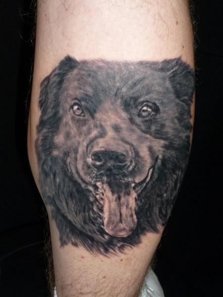 hund-Tattoo: Mein Hund