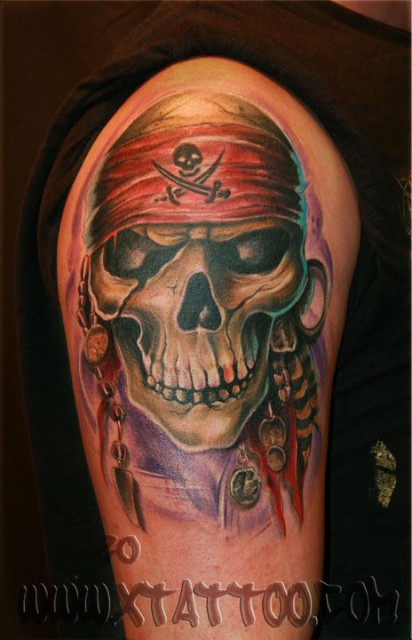 skull pirat
