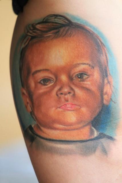 Portrait Sohn fast abgeheilt ca 4 Wochen