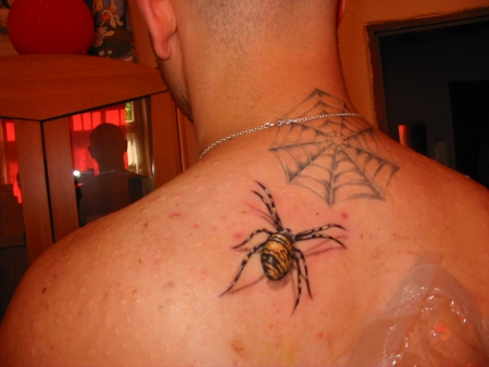 3d Rote Spinne Tattoos Rote Spinne Tattoos 13