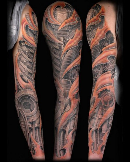 biomechanic-Tattoo: Biomechanic