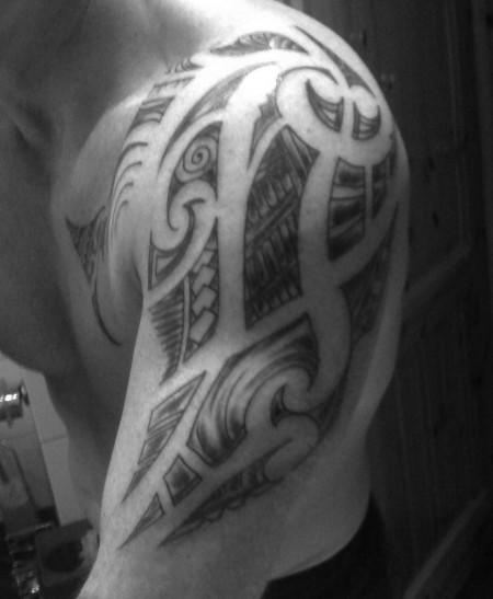 Maori / Ta moko mein lebensweg ..II.