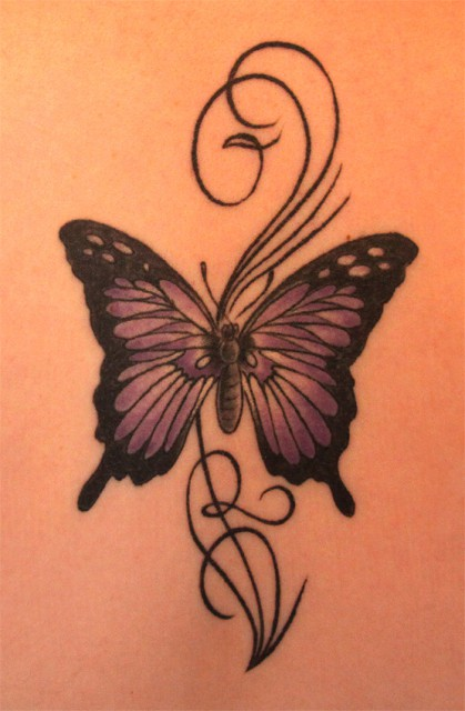 Schmetterling - Mein erstes Tattoo :)