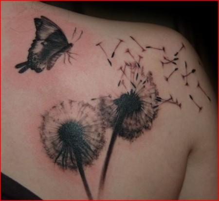 Tattoos Zum Stichwort Pusteblume Tattoo Bewertung De Lass Deine