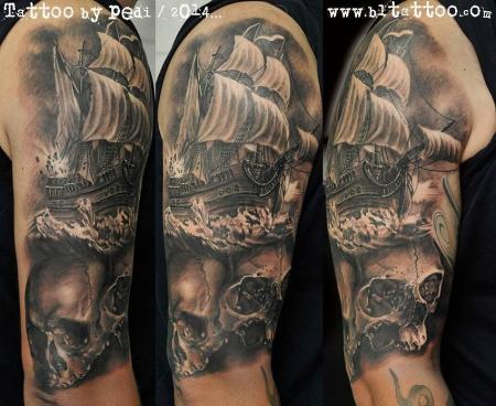 tattoos zum stichwort schiff tattoo lass deine tattoos bewerten. Black Bedroom Furniture Sets. Home Design Ideas